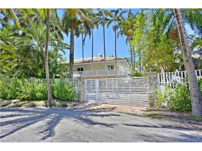 Coconut Grove Single Family Home Active-Available: 3577 Stewart Ave