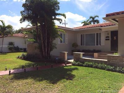 Coral Gables Single Family Home Active-Available: 340 Candia Ave