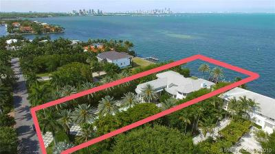Coral Gables Single Family Home Active-Available: 12 Tahiti Beach Island