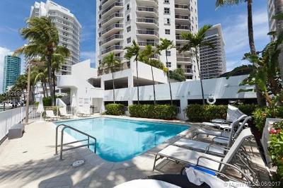 Miami Beach Condo For Sale: 5880 Collins Ave #306