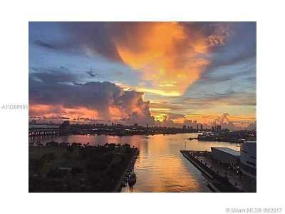 Condo For Sale: 888 Biscayne Blvd #2407