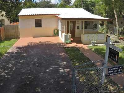 Hollywood Single Family Home Active-Available: 2530 Taft St