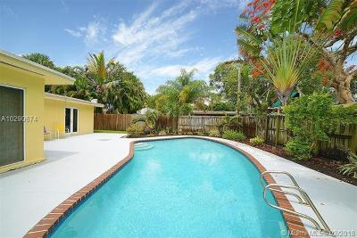 Wilton Manors Single Family Home For Sale: 224 NE 29th St