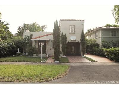 Coral Gables Single Family Home Active-Available: 828 Columbus Blvd