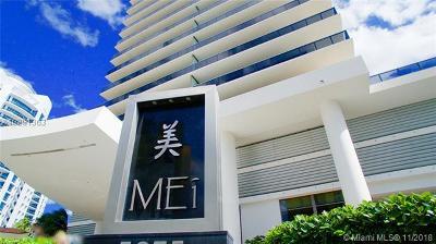 Mei, Mei Condominium Condo Active-Available: 5875 Collins Ave #902