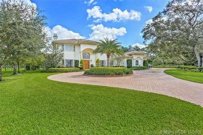 Davie Single Family Home For Sale: 9951 Winding Ridge Ln