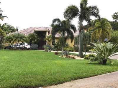 Davie Single Family Home Active-Available: 13291 Southwest 30th Ct