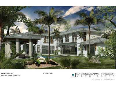 South Miami Single Family Home Active-Available: 5910 Southwest 80th St