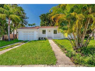 Miami Shores Single Family Home Active-Available: 45 Northeast 103rd St