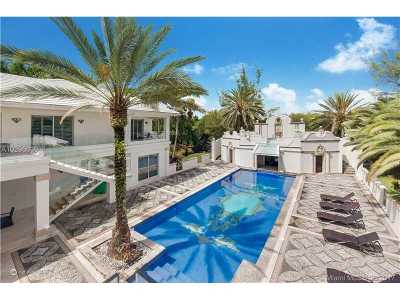 Coral Gables Single Family Home Active-Available: 2 Tahiti Beach Island