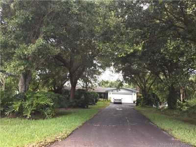 Davie Single Family Home Active-Available: 2801 Southwest 116th Ave