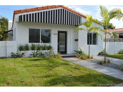 Miami Beach Single Family Home For Sale: 1340 71st St