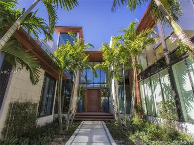 Miami Beach Single Family Home For Sale: 6440 N Bay Rd