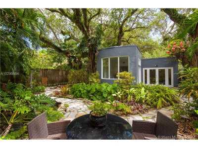 Coconut Grove Single Family Home For Sale: 3940 Loquat Ave