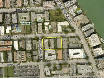 Bay Harbor Islands Commercial Lots & Land For Sale: 1070 98 St
