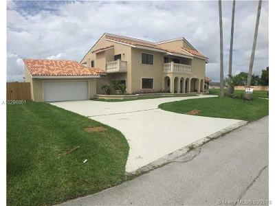 Miami Single Family Home For Sale: 10720 SW 139th Rd