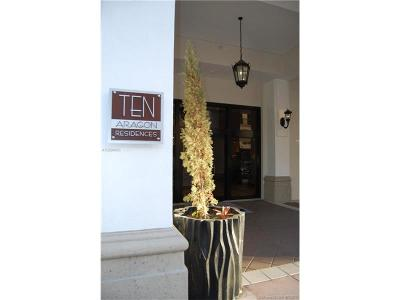 Coral Gables Condo Active-Available: 10 Southwest Aragon Ave #801