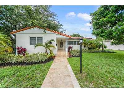 Miami Shores Single Family Home For Sale: 74 NE 111th St