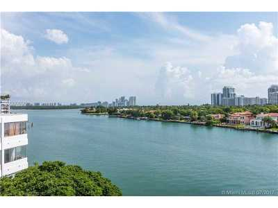 Bay Harbor Islands Condo For Sale: 9821 E Bay Harbor Drive #702