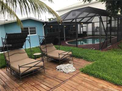 Dania Beach Single Family Home Active-Available: 321 Northeast 2nd Ct