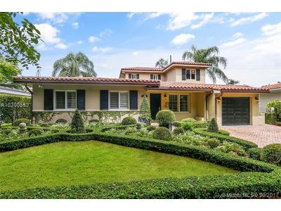 Coral Gables Single Family Home Active-Available: 5708 South Le Jeune Rd