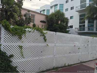 Altos Del Mar No 1, Altos Del Mar No 3 Single Family Home Active-Available: 7710 Collins Ave