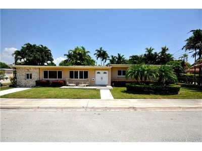 North Bay Village Single Family Home Active-Available: 1541 South Treasure Dr
