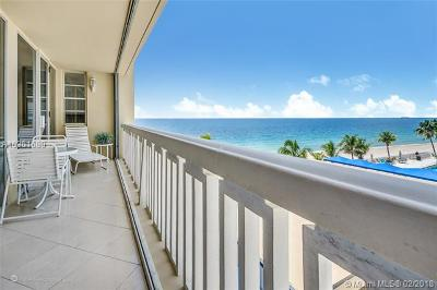Fort Lauderdale Condo Active-Available: 4300 North Ocean Blvd #4N