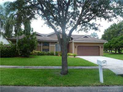 Cooper City Single Family Home Active-Available: 3522 Amsterdam Ave
