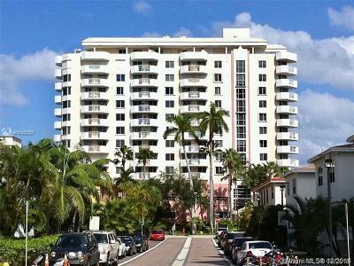 Miami Beach Condo For Sale: 1621 Bay Rd #502