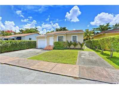 Coral Gables Single Family Home Active-Available: 825 Tangier St