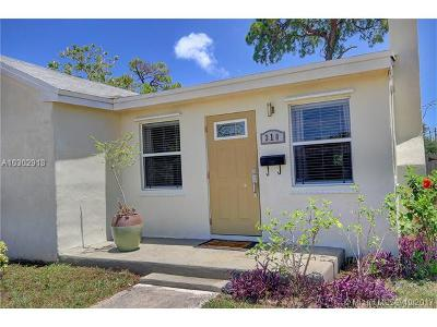 Fort Lauderdale Single Family Home Active-Available: 310 Southwest 7th St