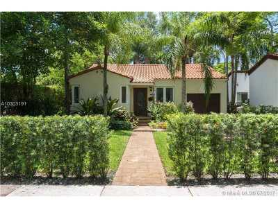 Coral Gables Single Family Home For Sale: 1036 Palermo Ave