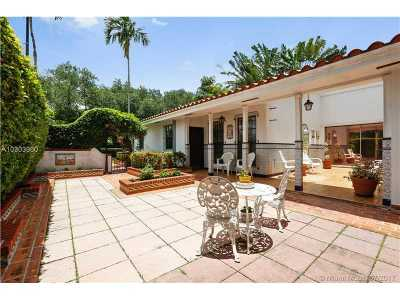 Coral Gables Single Family Home Active-Available: 1550 South Greenway Dr