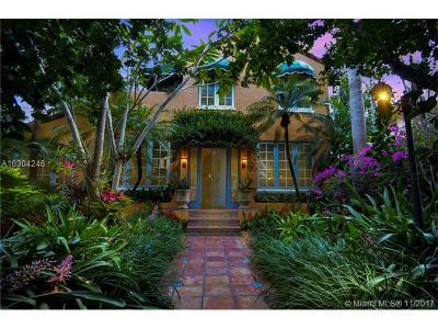 Coral Gables Single Family Home Active-Available: 1340 Asturia Ave