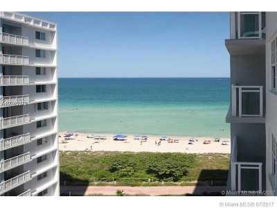 Miami Beach Condo For Sale: 6917 Collins Ave #1010
