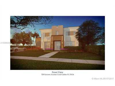 Coral Gables Single Family Home For Sale: 728 Navarre Ave