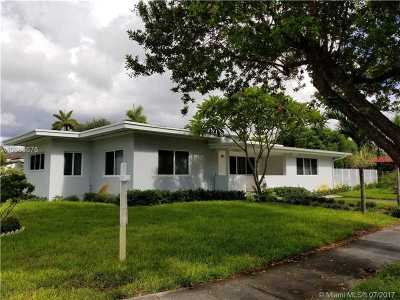 North Miami Single Family Home Active-Available: 12800 Northeast 5 Ave
