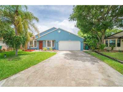 Broward County Single Family Home Active-Available: 13301 Southwest 9th Pl