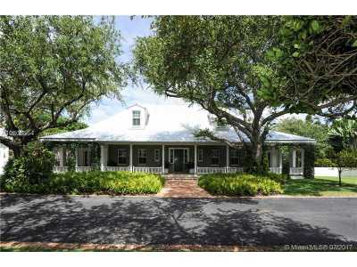Pinecrest Single Family Home For Sale: 12700 SW 62nd Ave