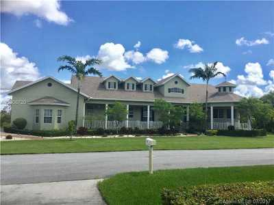 Davie Single Family Home Active-Available: 15425 Southwest 34th Ct