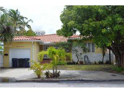 Surfside Single Family Home Active-Available: 9517 Byron Ave