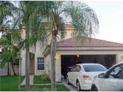 Miramar Single Family Home Active-Available: 17701 Southwest 23rd St
