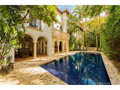 Key Biscayne Single Family Home Active-Available: 740 North Mashta Dr