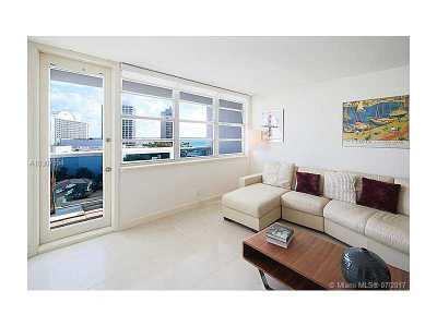 Miami Beach Condo For Sale: 6770 Indian Creek Dr #9R