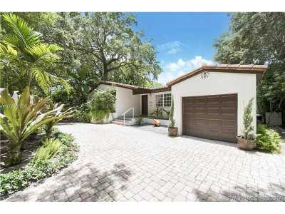 Coral Gables Single Family Home Active-Available: 5530 South Le Jeune Rd