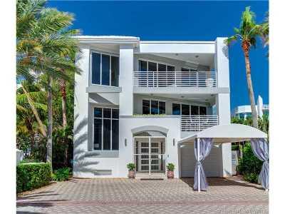 Miami, Miami Beach Single Family Home Active-Available: 7701 Collins