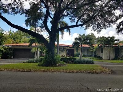 Coral Gables Single Family Home Active-Available: 801 Obispo Ave