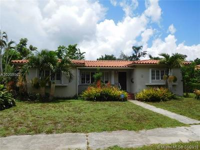 Miami Shores Single Family Home Active With Contract: 73 NE 108th St