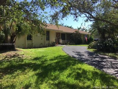 Palmetto Bay Single Family Home For Sale: 17105 SW 78th Ct